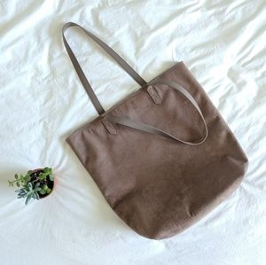 Old Navy Bags - Old Navy Faux Suede Tote Bag
